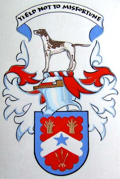 Registered coat of arms. See JOHN1751.